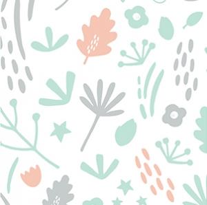 Nature, gris et corail