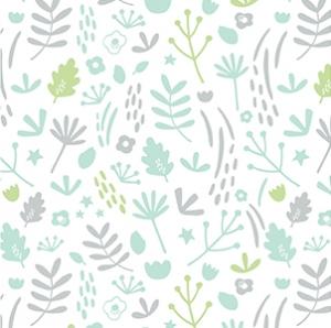 Nature grise et verte